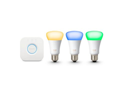 Hue White and color ambiance Starter kit E27