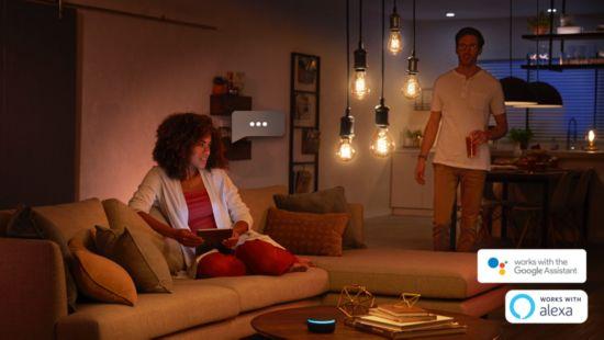 Styr lamporna med din röst*