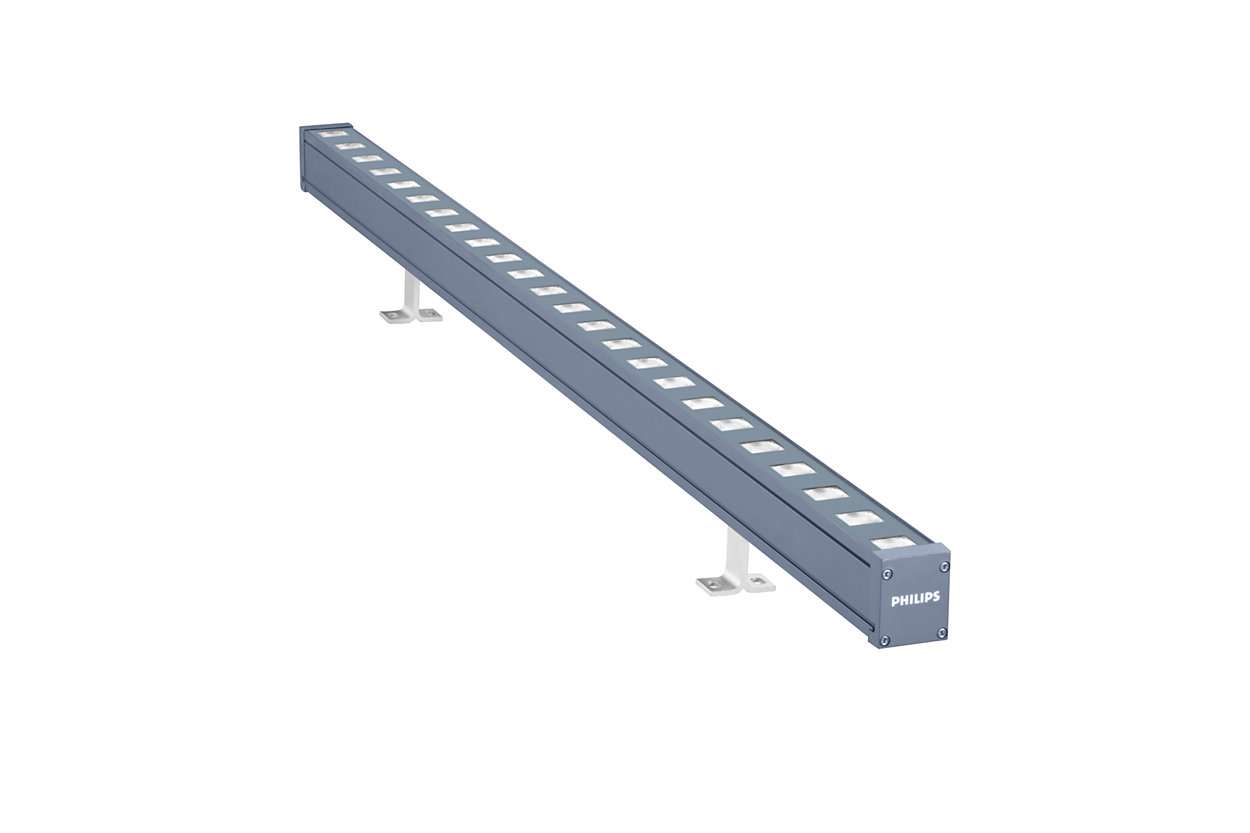 UniStrip G4 – Best-in-Class Linear LED Surface Mounted Luminaire for Exterior Fixed and Dynamic Architectural Lighting Applications
