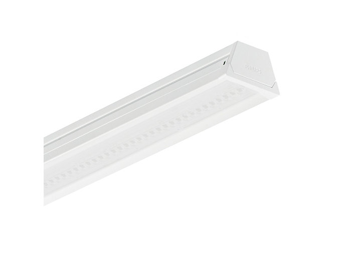 CoreLine trunking LL120X/LL121X luminaire, double lumen version, opal