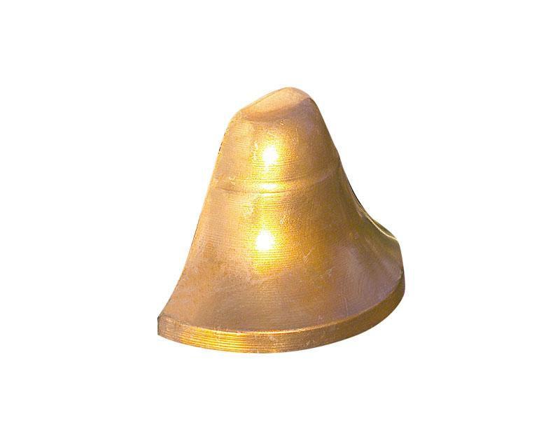 Deck Light, Copper, Bell-Shape, 10W T3, 12V