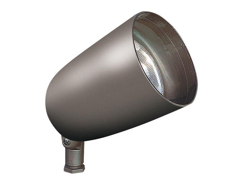 Accent, Aluminum Bullyte w/ Long Shroud, Black, 18W LED, 3000K, 120V