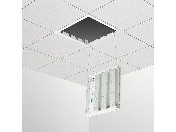 Service-cord connection points (concealed profile and plaster ceiling versions)