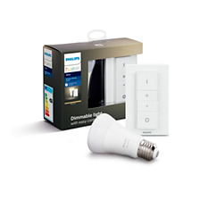 Hue White Kit ampoule Hue E27 white ambiance et dim switch
