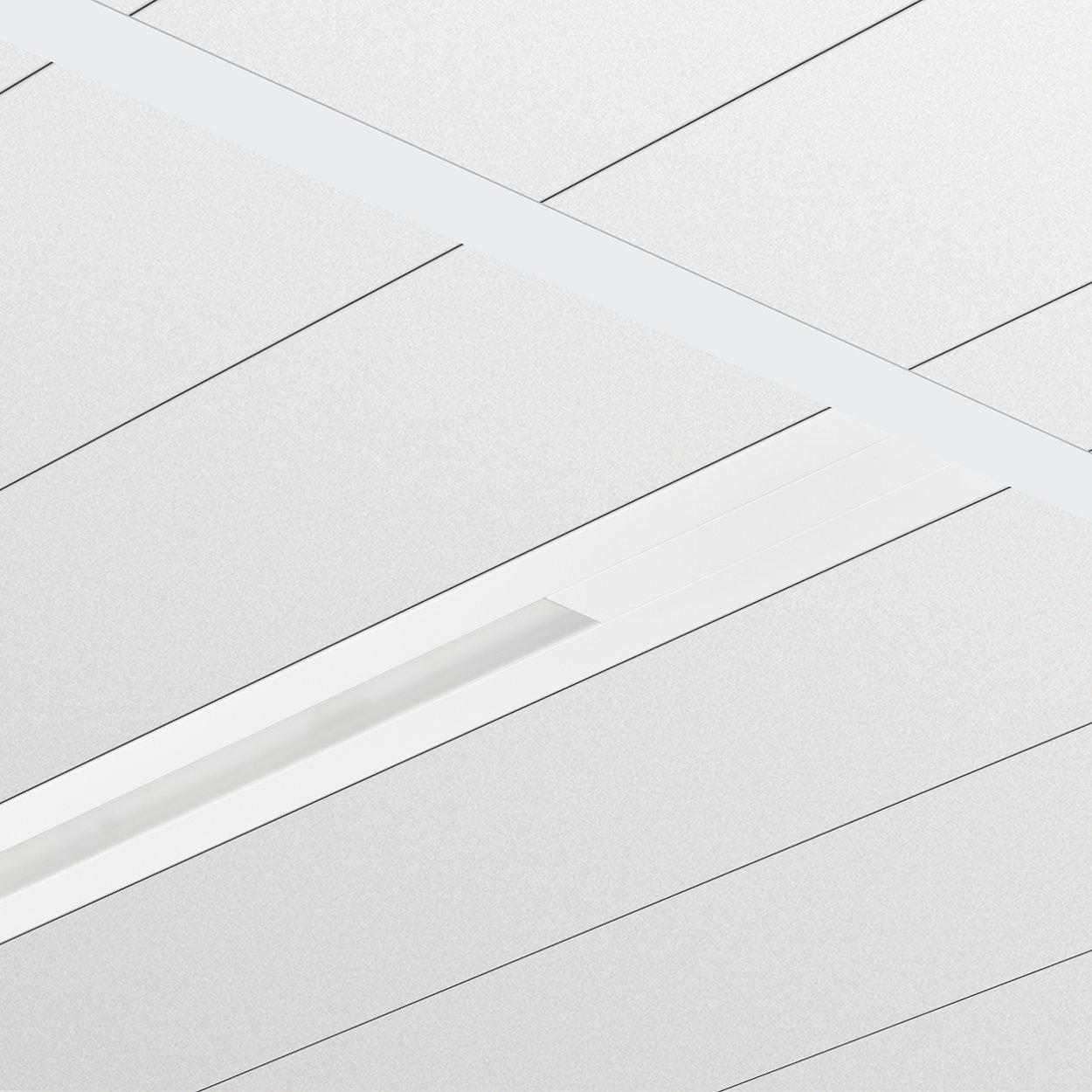 Zapuštěné svítidlo TrueLine – skutečná linie světla: elegantní, energeticky účinné a v souladu s normami pro osvětlení kanceláří