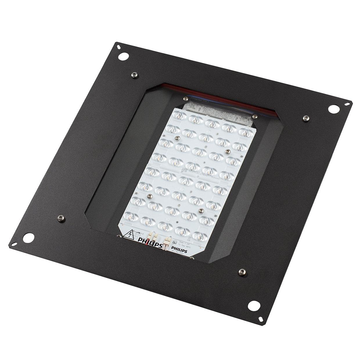 Aggiornamento della base installata di apparecchi per illuminazione tradizionali ad alternative a LED a efficienza energetica a prova di futuro.