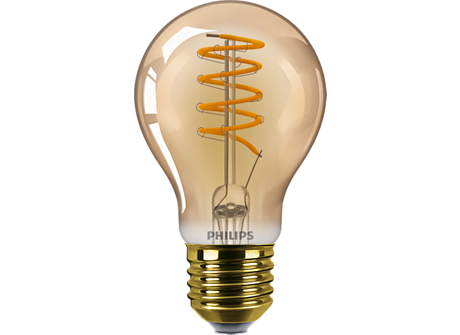 LED classic 5.5W A60 E27 GOLD SP D 1PF/6