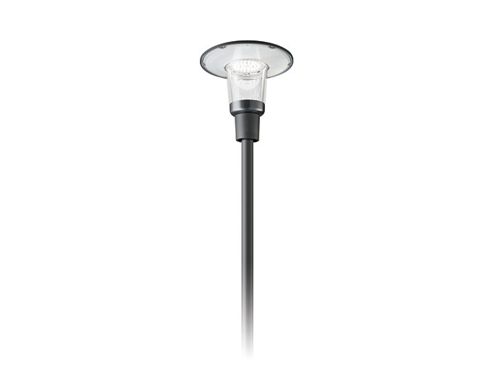 Svítidlo CityCharm Cordoba BDS490 lze použít na všechny standardní sloupy.