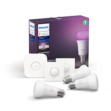 Hue White and Color Ambiance Kit de démarrage E27