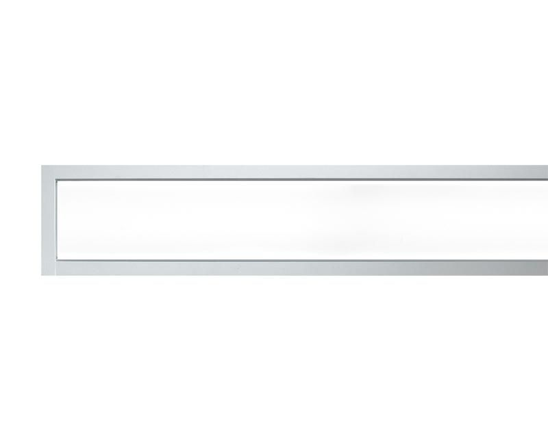 TruGroove Recessed Definition LED, 1500 lm/4ft, 3000/3500/4000K Direct, Flush Silk Lens