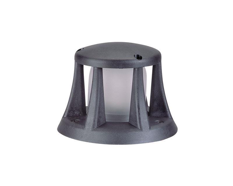 Beacon, Composite Semi Recessed, Black, 20W T3, 120V