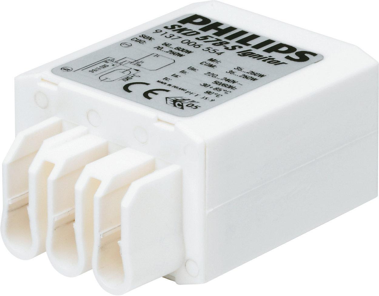 Arrancadores compactos para un diseño flexible de luminarias