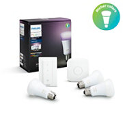 Hue White and Color Ambiance Starter-Kit, E27