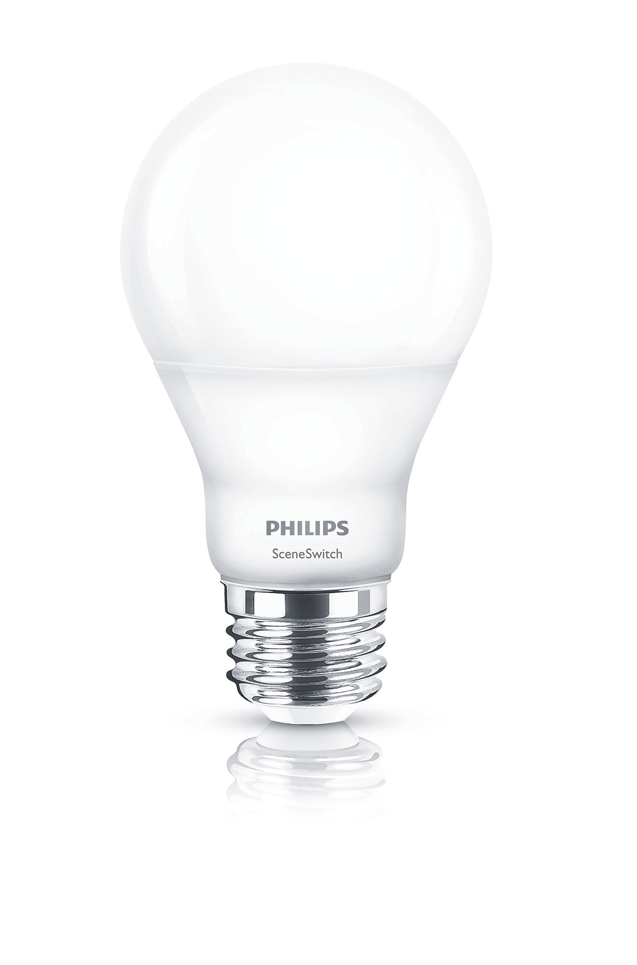 One bulb. Your switch. Three color settings.