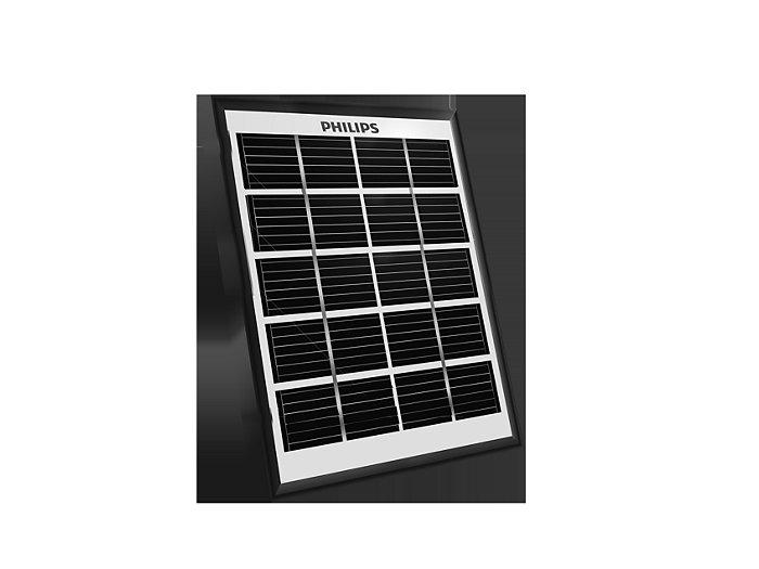 Solar panel with tiltable legs