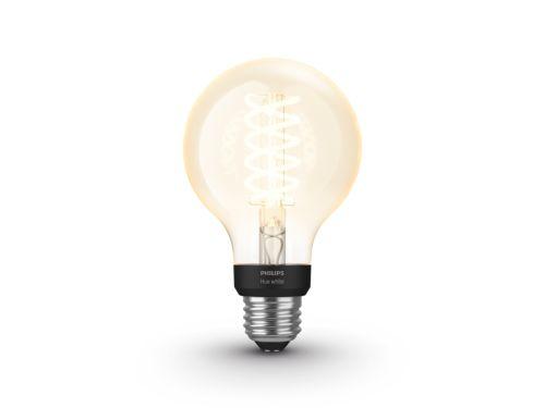 Ampoule blanche Hue à filament Paquet de 1globe G25 E26 à filament