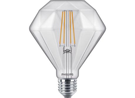 LEDClassic 40W Diamond E27 2700K CL D