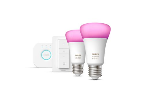 Hue White and Colour Ambiance Starter kit E27