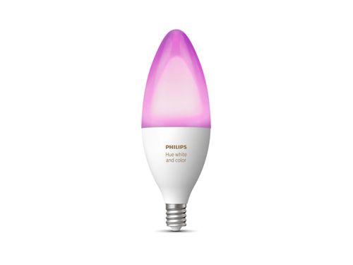 Ambiance blanche et colorée Hue Ampoule simpleE12