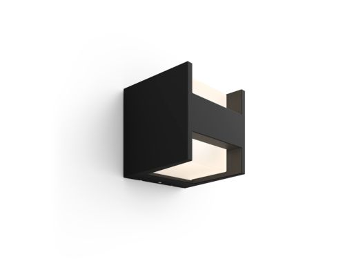 Hue White Fuzo Outdoor Wall Light