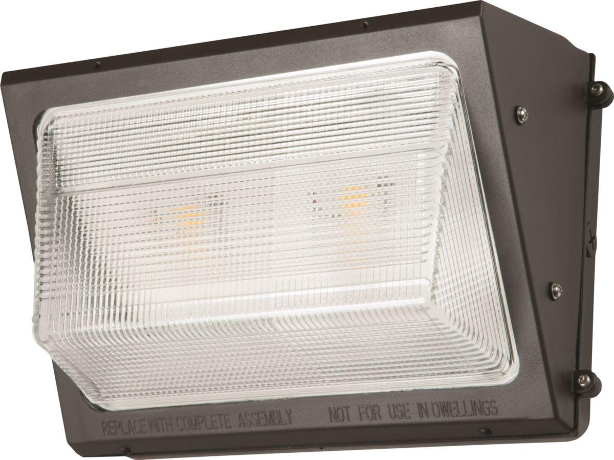 WP, LED, 75W, 4000K, 70 CRI, 120-277V, Bronze