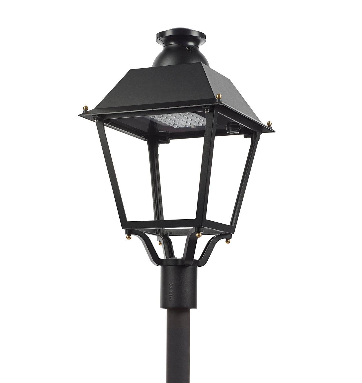 Luminária icónica de quatro lados com estilo ibérico