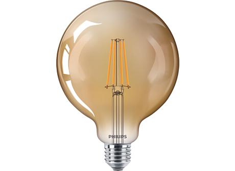 CLA LEDBulb D 8-50W G120 E27 822 GOLD