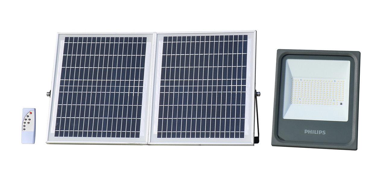 Kit de iluminación del panel solar.