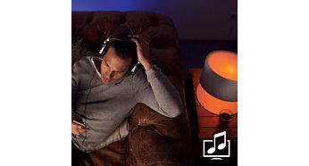 讓燈光與音樂和電影同步