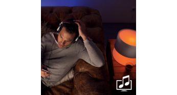 Sinhronizirajte luči z glasbo in filmi
