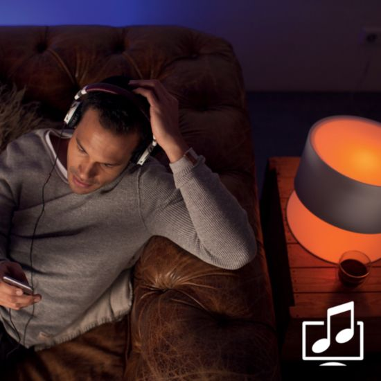 Sync lights with music and films