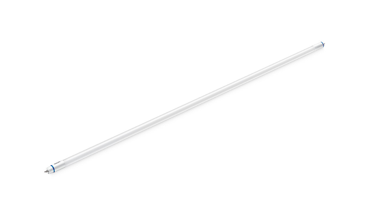 Simple T5 LED replacement for fluorescent tubes