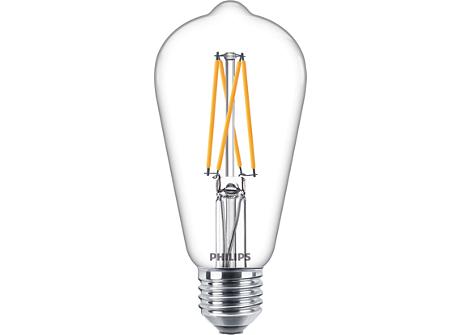 CLA LEDBulb DT9-60W E27 CRI90 ST64 CL LED-Lampen mit