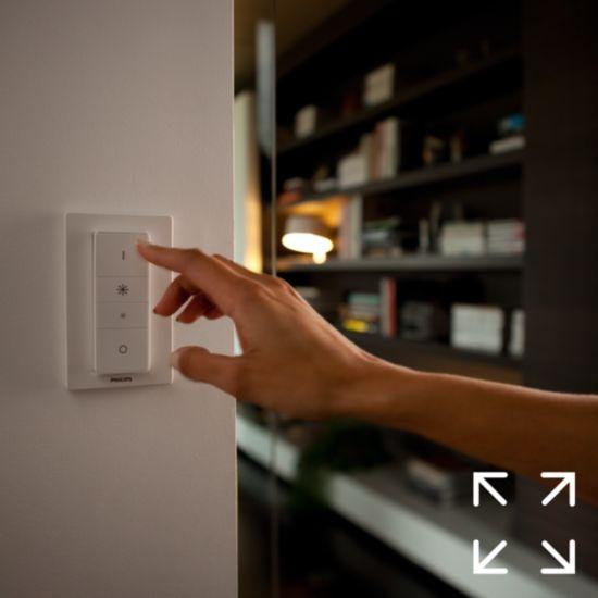 Placez l'interrupteur n'importe où