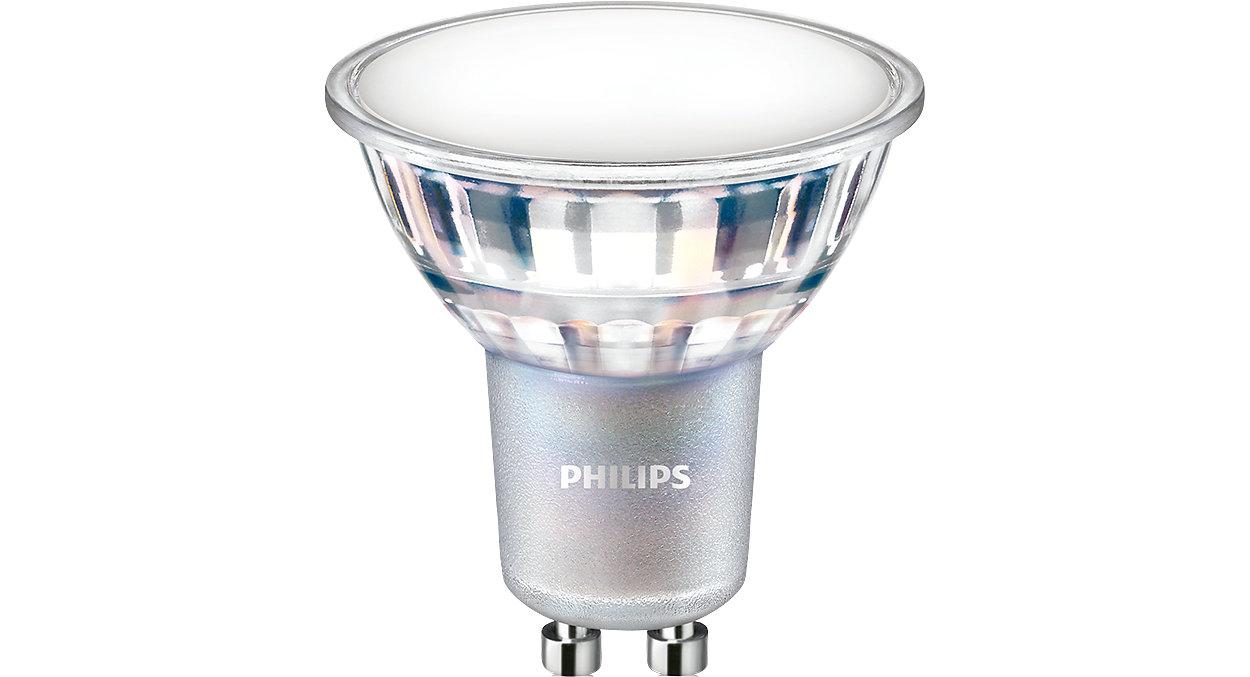 Silný výkon bodového osvětlení se známým skleněným vzhledem a dojmem