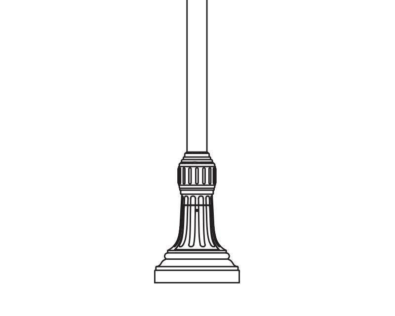 Anchor Base Post (790-)