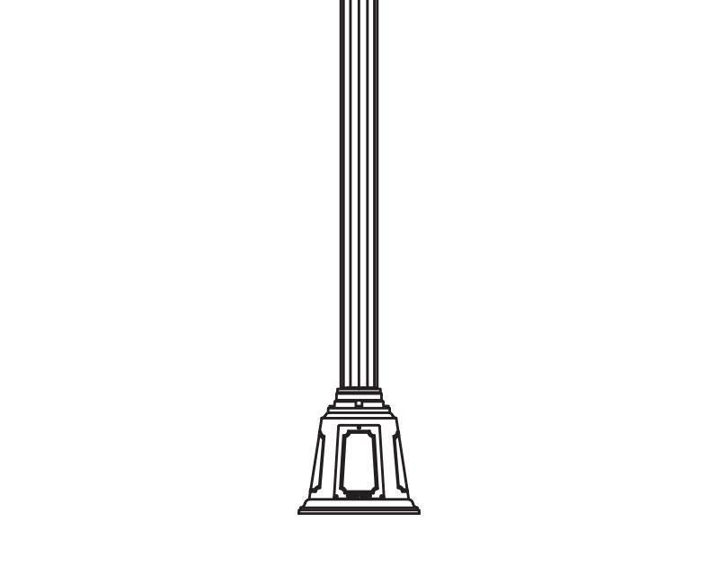Anchor Base Post (769-)