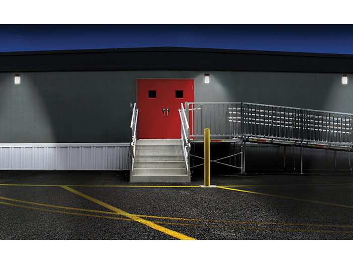 TW20 Tall wall pack LED Application Photo