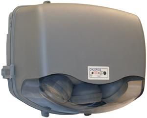 Symmetry Spec Grade Thermoplastic Emergency Unit, Lead Calcium, 12V 18W, 6W Halogen Lamp, Black Housing