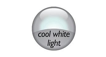 Cool white light effect