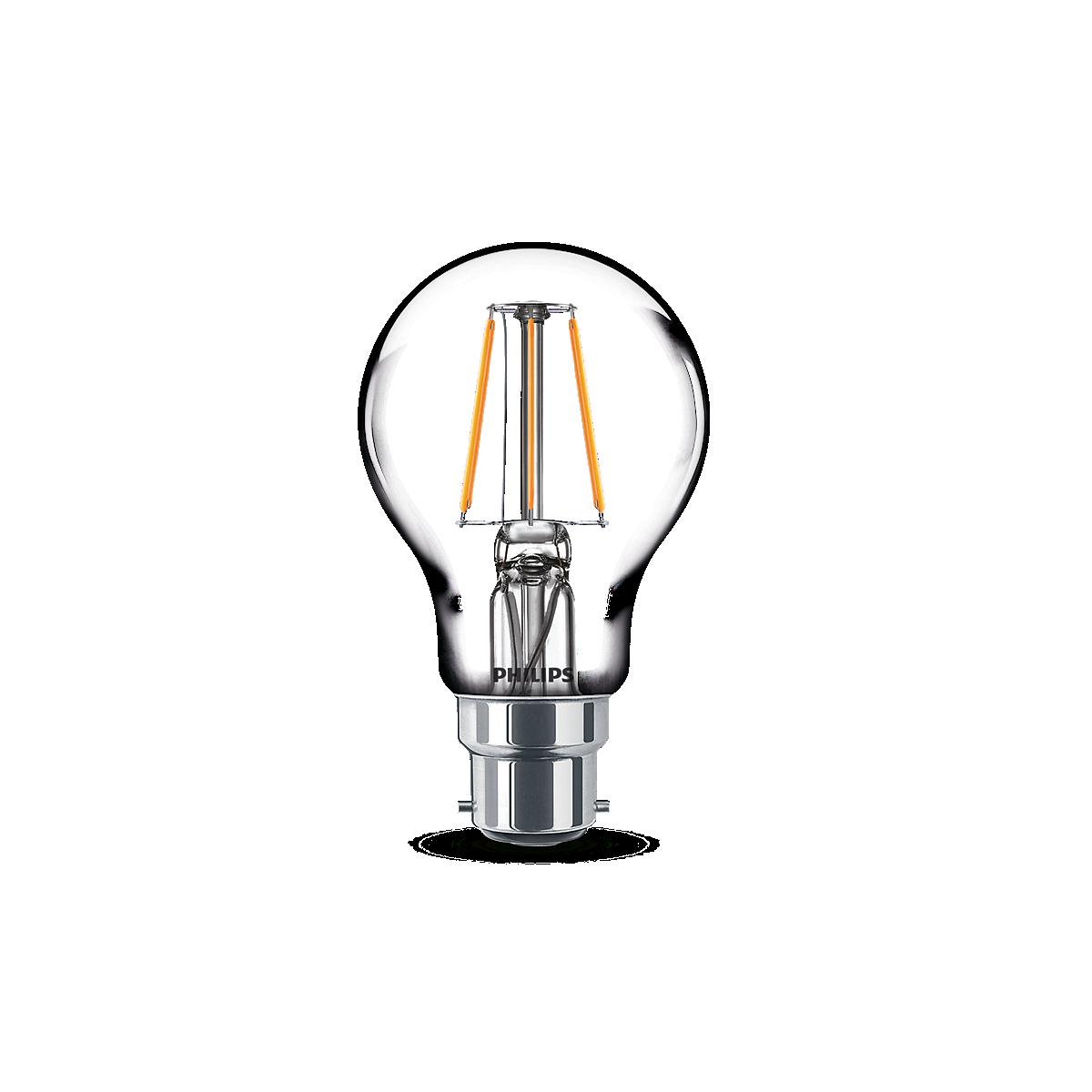 LED Velas y reflejo metálico