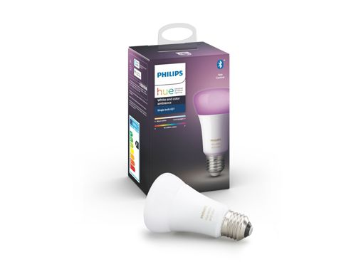 Hue White and Colour Ambiance 1-pack E27