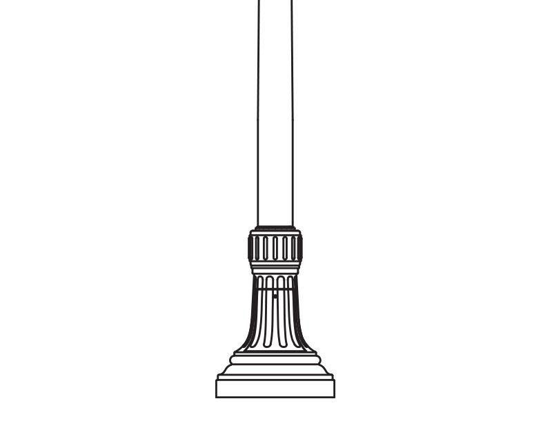 Anchor Base Post (797-)