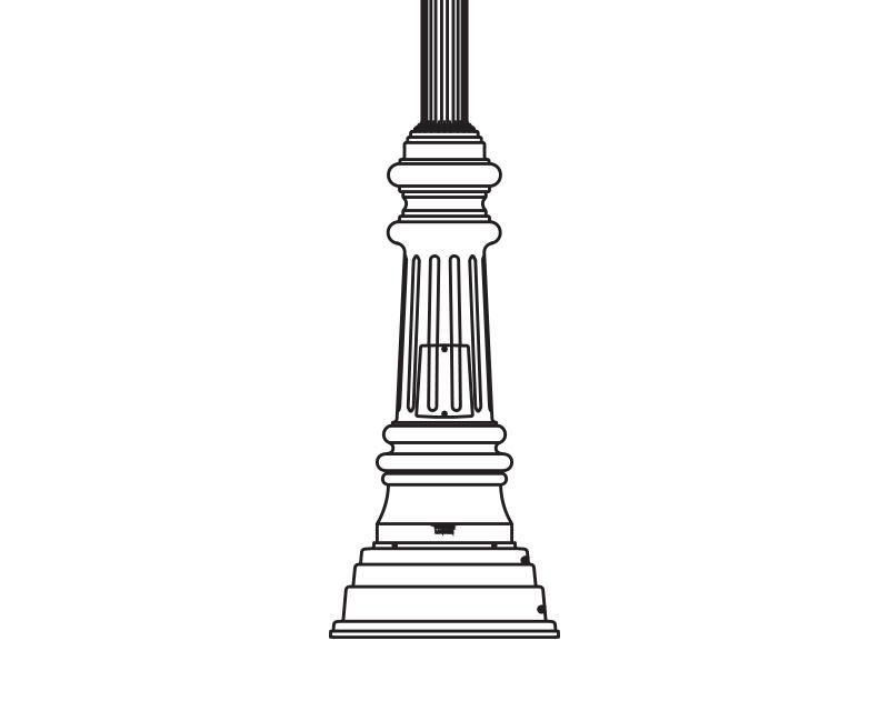 Anchor Base Post (294-)