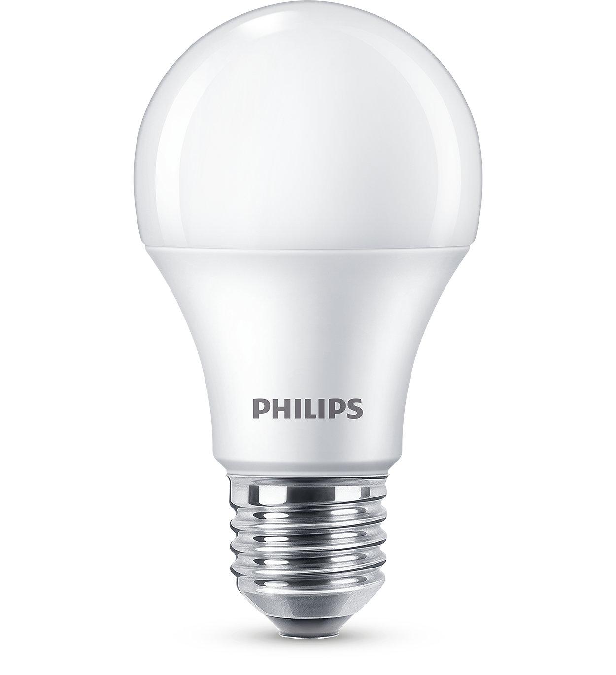 Izbaudiet silti baltu LED gaismu