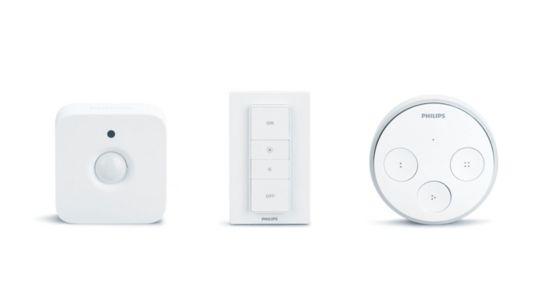 Añade sensores, interruptores inteligentes, etc.