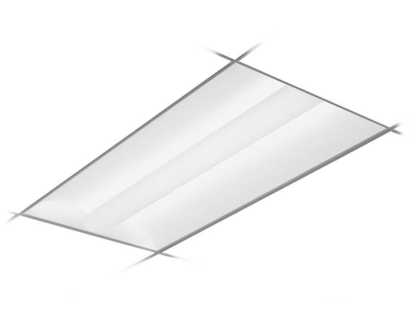 2x4, 3800 Nominal Delivered Lumens, 3500K, Frosted Acrylic Lens