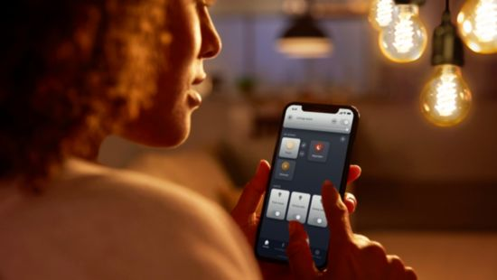 Control up to 10 lights with the Bluetooth app