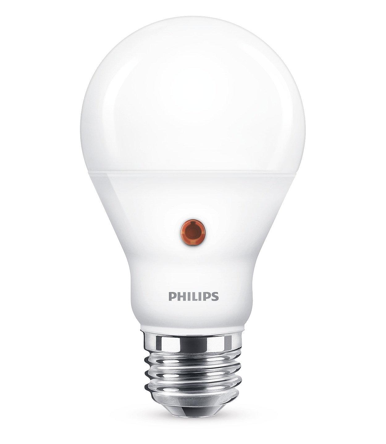 Lampadina a LED, sensore luminoso giorno e notte