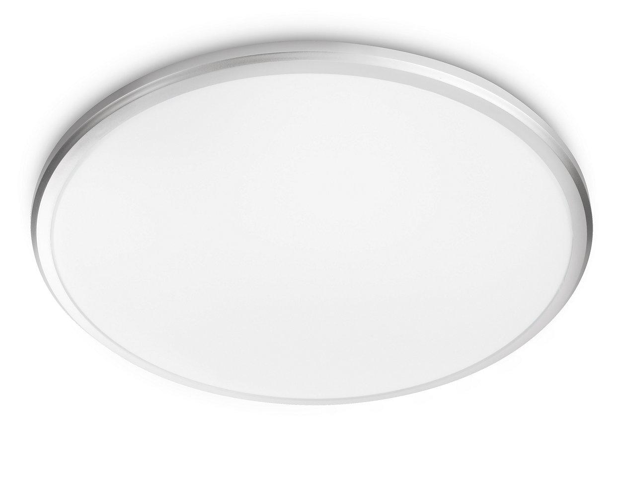 Komfortabelt LED-lys som er skånsom for øynene